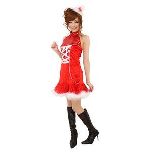 【コスプレ】 クリスマスコスプレ ジュエルタイトンサンタ Ladies - 拡大画像