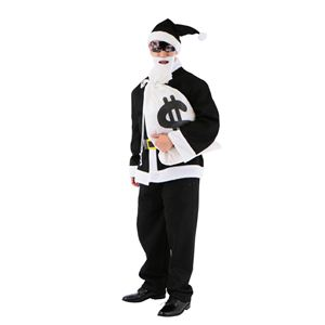 クリスマスコスプレ 悪サンタ Men's - 拡大画像