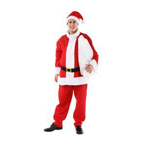 【クリスマスコスプレ】太っちょサンタさん メンズ 4560320834250 - 拡大画像