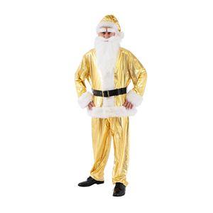 クリスマスコスプレ GOGOサンタさん スペシャルゴールデン Men's - 拡大画像
