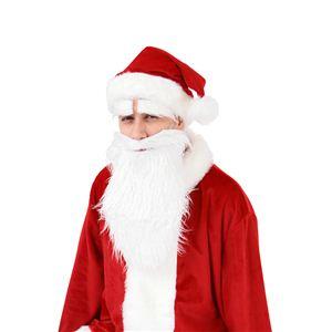 【クリスマスコスプレ】サンタさんの白いヒゲ 【3セット】 4560320834304 - 拡大画像