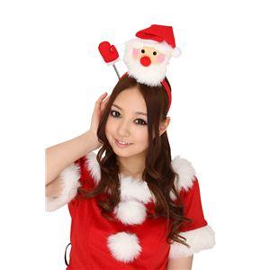 【クリスマスコスプレ】ハローサンタカチューシャ 【3セット】 4571142450115 - 拡大画像
