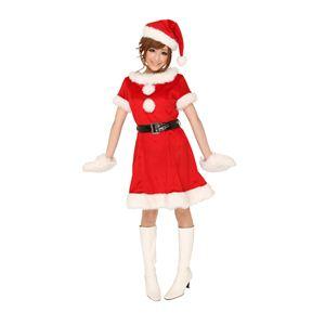 クリスマスコスプレ キャンディサンタ Ladies - 拡大画像