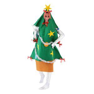 クリスマスコスプレ ツリーマン Men's - 拡大画像
