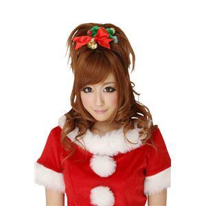【コスプレ】 クリスマスコスプレ シュシュ クリスマスリース 【3セット】 - 拡大画像