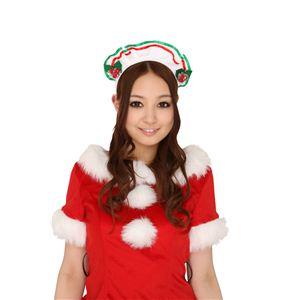 【クリスマスコスプレ】ヒイラギメイドカチューシャ 【3セット】 4571142469735 - 拡大画像