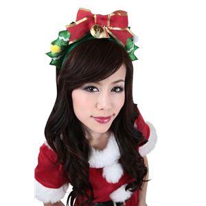【クリスマスコスプレ】グリッターリース 【3セット】 4571142469766 - 拡大画像