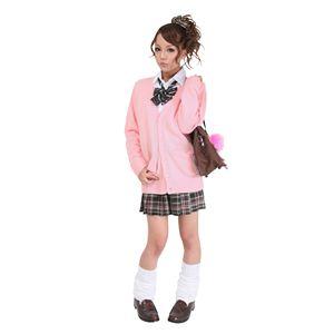 【コスプレ】 TeensEver(ティーンズエバー) コスプレ TE-11AW カーディガン ピンク LL 4560320837978