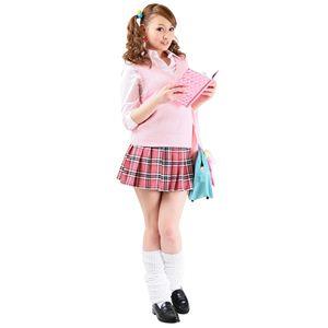 【コスプレ】 TeensEver(ティーンズエバー) コスプレ TE-11AW ベスト ピンク L 4560320838111