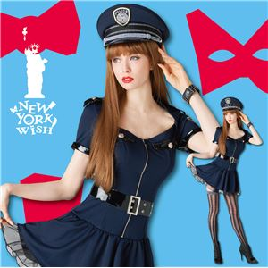 【コスプレ】 New York Wish(ニューヨークウィッシュ) コスプレ ワンピースポリス Sサイズ NYW_1502 4560320840442 - 拡大画像