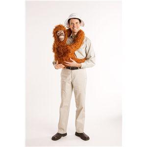 【ハロウィンコスプレ】 Baby Orangutan arm puppet(赤ちゃんオランウータンのアームパペット)※専用シャツ付き 895104002308 - 拡大画像