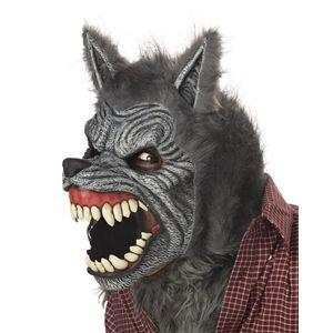 【ハロウィンコスプレ】 Werewolf Ani-Motion Mask(狼人間の可動式マスク) 019519025732 - 拡大画像