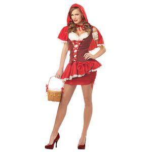 【ハロウィンコスプレ】 Red Riding Hood(赤ずきん) 019519031061 - 拡大画像