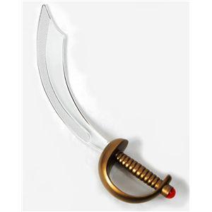 【コスプレ】 【ハロウィン】 Electroplated Pirate Sword(海賊の剣) 4560320843665 - 拡大画像