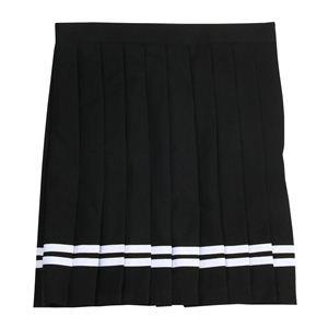 【コスプレ】 TeensEver(ティーンズエバー)TE-12AW スカート (ブラック/白ライン) L 4560320846154