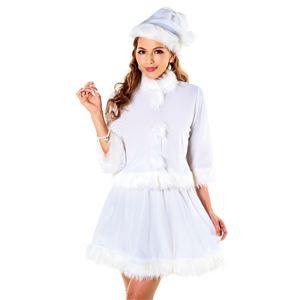 【クリスマスコスプレ】ベイシックサンタ ホワイト 4571142469223の写真3