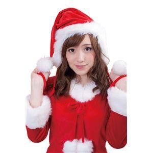 【クリスマスコスプレ】イヤーマフサンタ帽 4560320844495 - 拡大画像