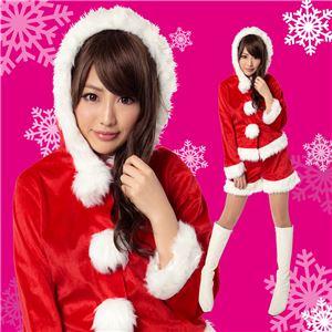 【クリスマスコスプレ 衣装】キティーサンタ 4560320827382 - 拡大画像