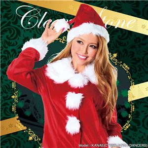 【クリスマスコスプレ】サンタガールコート 4560320827443 - 拡大画像
