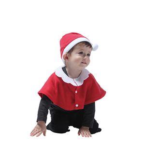 【クリスマスコスプレ】サンタケープ baby 4560320844228 - 拡大画像