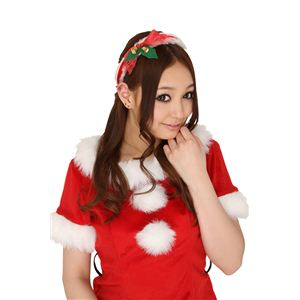 【クリスマスコスプレ】ショートケーキカチューシャ 4571142450085 - 拡大画像