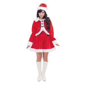 【クリスマスコスプレ】ダッフルサンタ 4560320844044 - 拡大画像