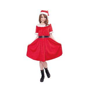 【クリスマスコスプレ】ドレッシーサンタ 4560320843948 - 拡大画像