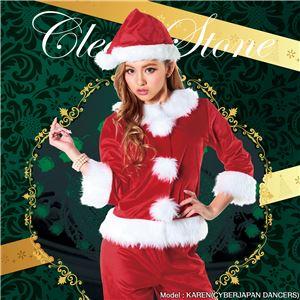 【クリスマスコスプレ 衣装】ベーシックパンツサンタ 4560320843962 - 拡大画像