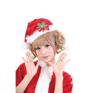【クリスマスコスプレ】リンリンジングル帽 4560320844471 - 拡大画像