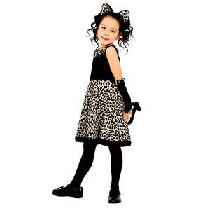 コスプレ衣装/コスチューム 【レオニーワンピース 140サイズ】 7歳~8歳目安 ポリエステル 〔イベント パーティー〕