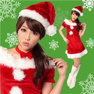 【クリスマスコスプレ 衣装】ジェニーサンタ Ladies - 拡大画像