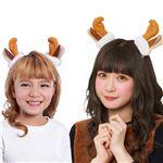 【クリスマスコスプレ】トナカイヘアピン