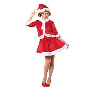 【クリスマスコスプレ】ニットレースジャケットサンタ Ladiesの写真5