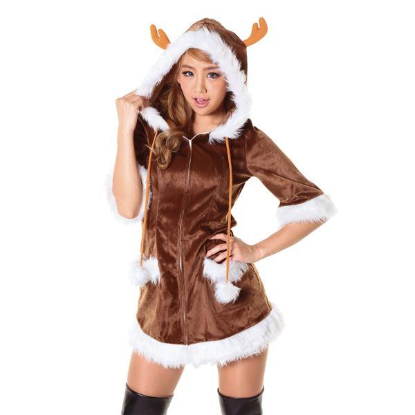【クリスマスコスプレ】ハッピートナカイ Ladies