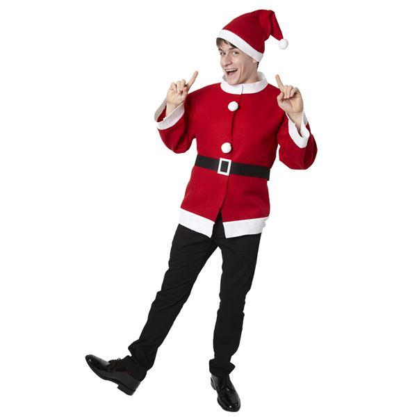 【クリスマスコスプレ】シンプルサンタジャケット