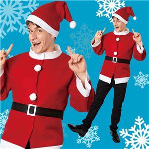 【クリスマスコスプレ】シンプルサンタジャケットの写真2