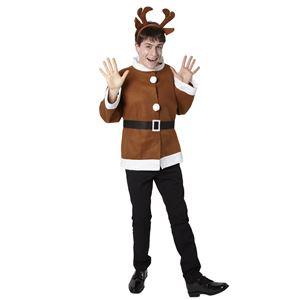 【クリスマスコスプレ】シンプルトナカイジャケットの写真2