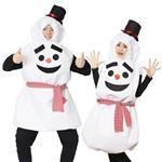 【クリスマスコスプレ 衣装】だんごスノーマン