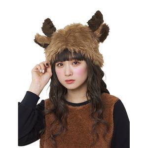 【クリスマスコスプレ 衣装】ふわっとトナカイハット f05