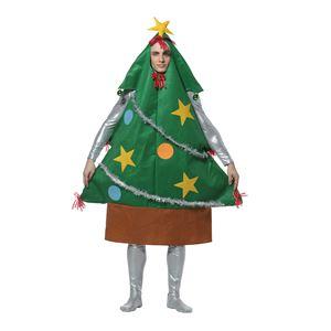【クリスマスコスプレ 衣装】ツリーマン メンズ(男性用) - 拡大画像