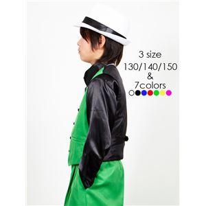 キッズダンス衣装 【ベスト グリーン 150サ...の紹介画像3