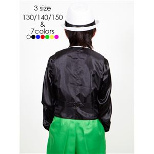 キッズダンス衣装 【ベスト グリーン 150サ...の紹介画像4