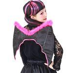【コスプレ】MH ウィング ブラック/ピンク