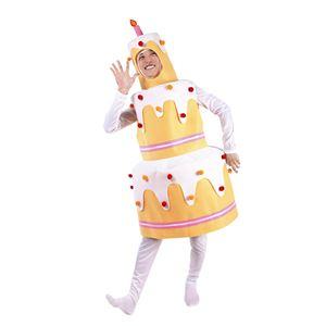 コスプレ衣装/コスチューム 【ビッグケーキちゃん】 身長180cm迄 ポリエステル 〔イベント パーティー〕