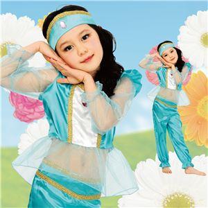 【ハロウィンコスプレ】キッズ アラビアンプリンセス 120 (子供用) - 拡大画像