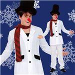 【クリスマスコスプレ 衣装】スタイリッシュ雪だるま