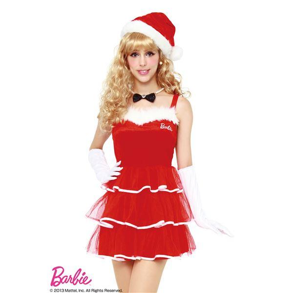 【クリスマスコスプレ】Barbie Christmas レイヤードスカートサンタ