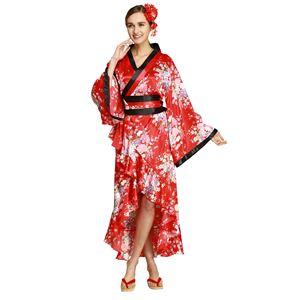 【コスプレ・着物ドレス】Tsuma Dream Red M - 拡大画像