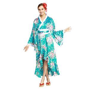 【コスプレ・着物ドレス】Tsuma Dream Light Blue M  - 拡大画像