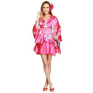 【コスプレ・着物ドレス】Dream Date Shocking Pink XL